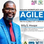 Inclusive WORKPLACE with Agile Principles feat. Billy S. Mwape, PMP